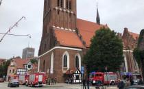 Czujka pożarowa włączyła się w kościele...