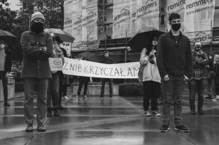Krzyczymy za was. Protest w Gdyni