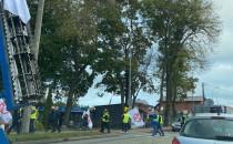 Protest rolników w Chwaszczynie