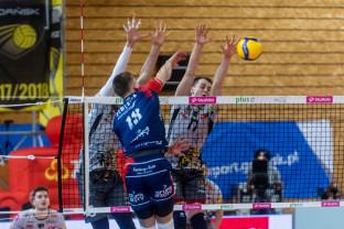 Trefl Gdańsk - ZAKSA Kędzierzyn-Koźle 0:3. Wyrównana gra siatkarzy, ale bez seta