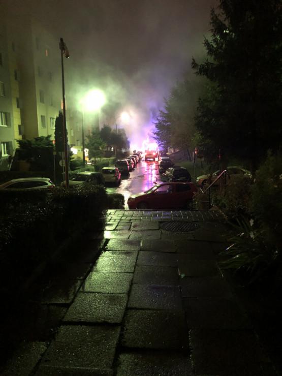 Auto doszczętnie spłonęło na Morenie
