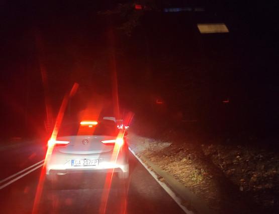 Droga między Wiczlinem i Dąbrową zablokowana