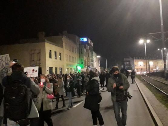 Hucisko i Podwale Grodzkie zablokowane