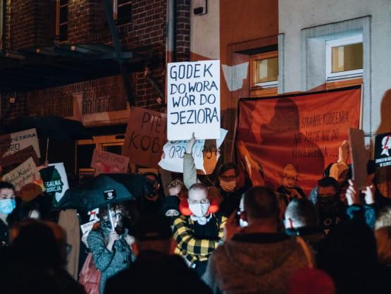 Piątkowy protest o prawa kobiet w Gdańsku