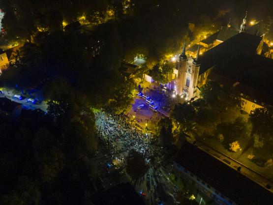 Protesty z powietrza na zdjęciach czytelnika