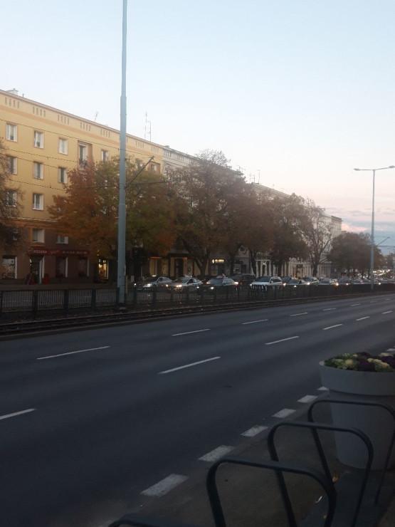 Strajk taksówkarzy na Grunwaldzkiej we Wrzeszczu