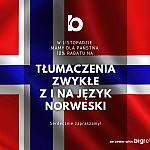 BigLetter - 10% Rabatu na Tłumaczenia z i na Język Norweski