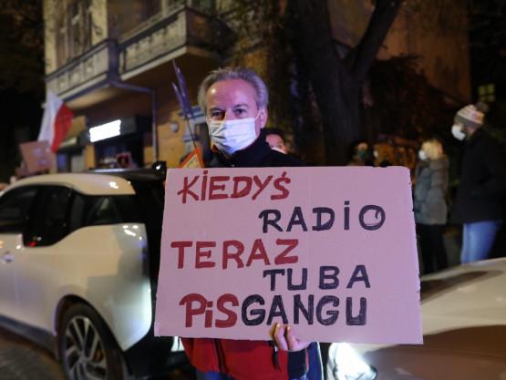 Strajk pod Radiem Gdańsk