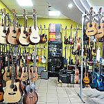 Gitary klasyczne i elektryczne w sklepie muzycznym GAMA w Gdańsku