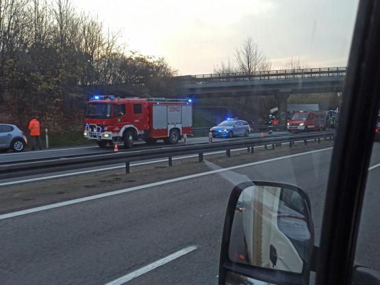 Poważny wypadek na obwodnicy przed Gdańskiem