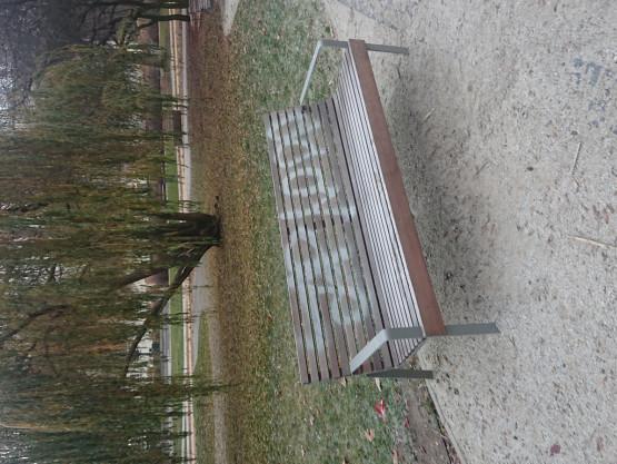 Dewastacje w Parku Centralnym w Gdyni