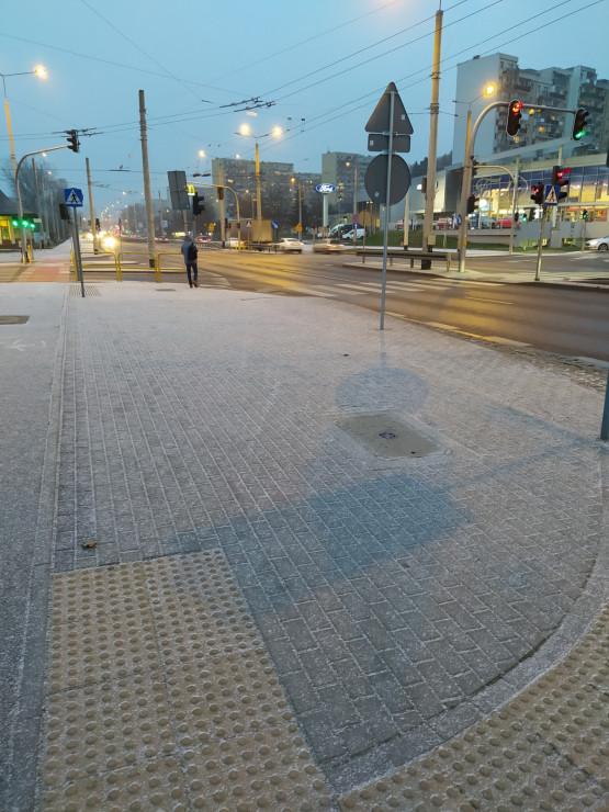 Gdynia Cisowa - tu też padał śnieg
