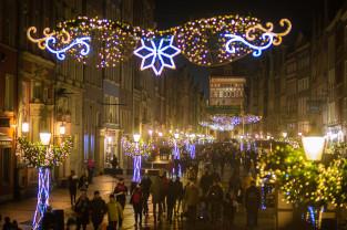 Świąteczne iluminacje rozbłysły w Gdańsku i Gdyni
