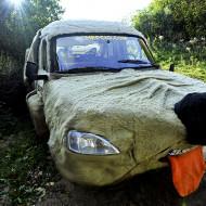 Hepcio, samochód jednego z bloggerów