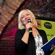 Anna Zbierska wręcza nagrody
