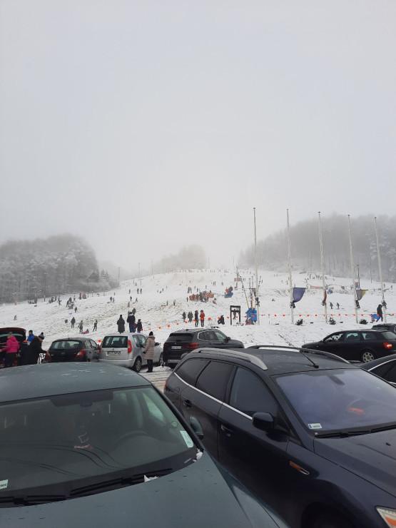 Mnóstwo narciarzy na pomorskich stokach