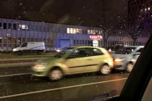 To  tylko stłuczka 4 samochodów w Oliwie