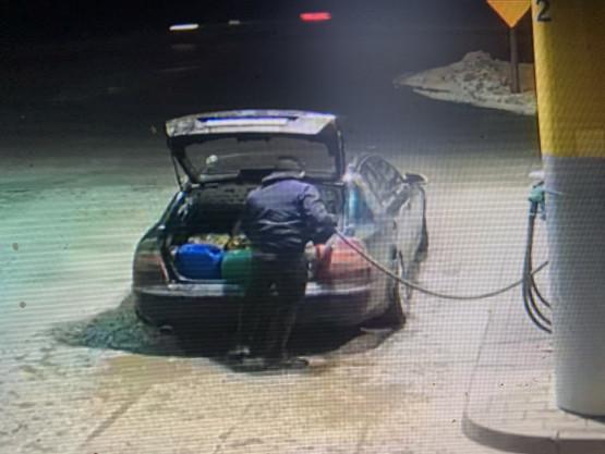 Kradzież paliwa przy ul. Nowatorów