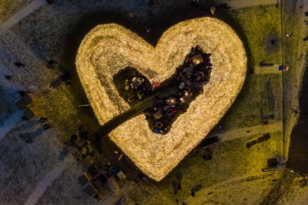 Serce dla Pawła Adamowicza