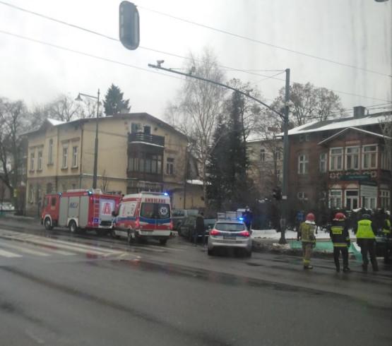 Stłuczka na Al.Niepodległości i Podjazd w Sopocie