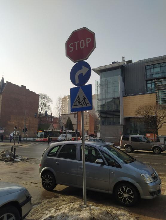 Nieodpowiedzialne parkowanie