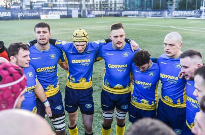 Arka Gdynia - Master Pharm Łódź 22:35. Emocje na inaugurację wiosny w rugby