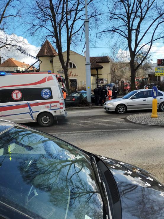 Skutki wypadku na Kartuskiej
