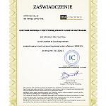 certyfikat IC