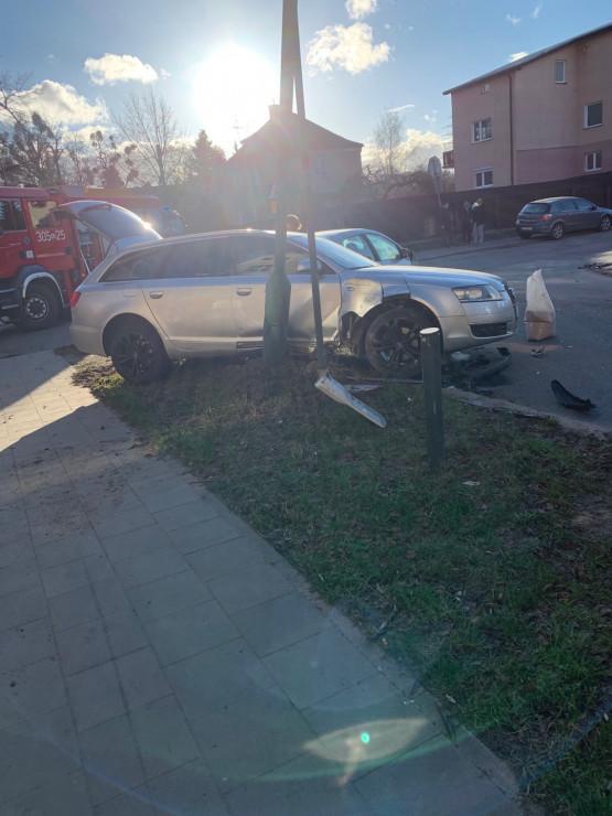 Kolizja na skrzyżowaniu Piastowskiej i Beniowskiego