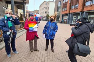 Protest przeciwko zakończeniu kadencji RPO Adama Bodnara