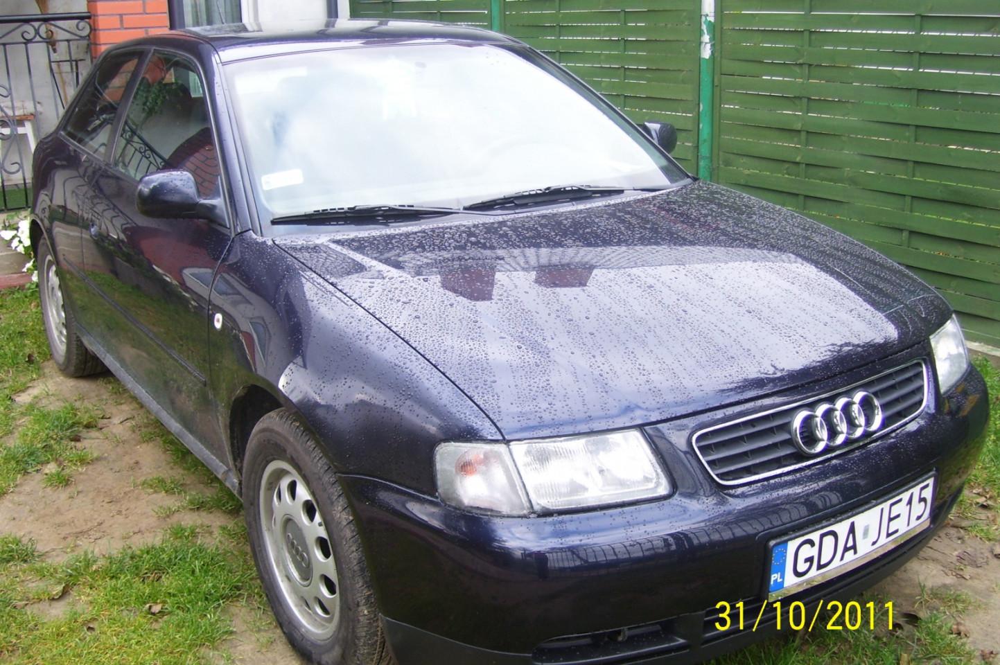 Audi a3 1996r.1,8 benzyna