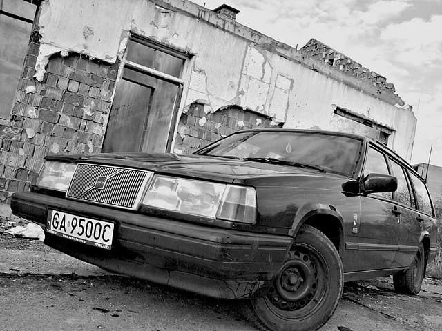 kanapowóz - VOLVO 945
