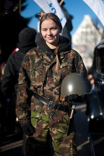 Kobieta - żołnierz
