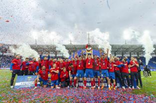 Raków Częstochowa - Arka Gdynia 2:1 w finale Pucharu Polski. Feralne 8 minut
