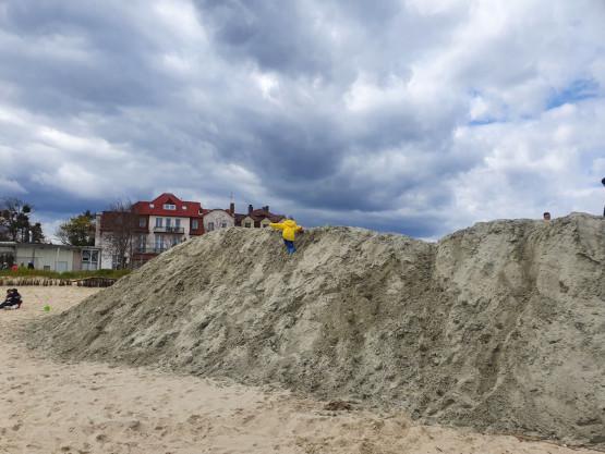 Nowe atrakcje na plaży w Sopocie