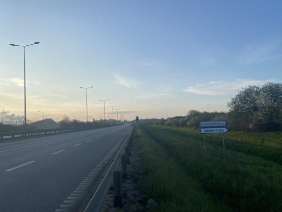 Sucharskiego/ droga szybkiego ruchu 89