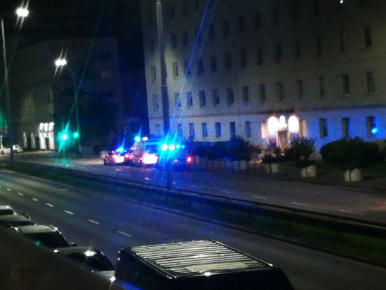 Interwencja na Śląskiej w Gdyni