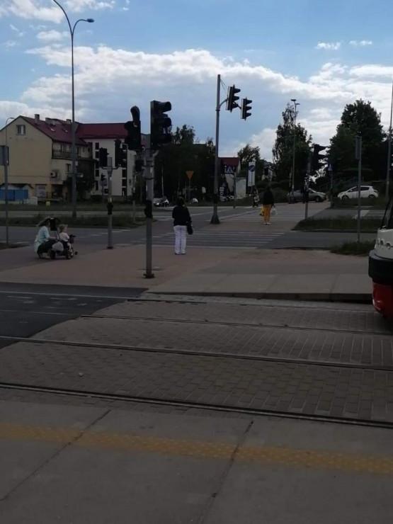 Nie działa sygnalizacja na Płockiej