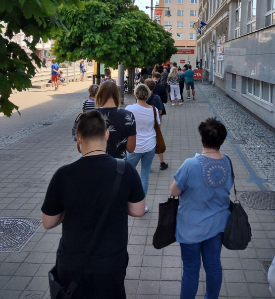 Gdynia - kolejka II dawka