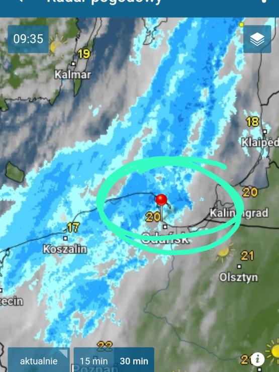 Idzie załamanie pogody, czyli trochę popada