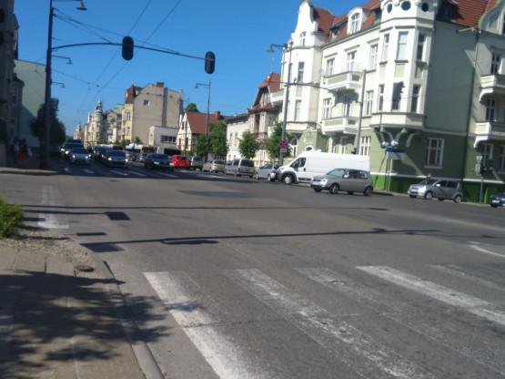 Duże korki w Sopocie w kierunku Gdyni