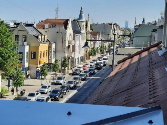 Korek w Sopocie w kierunku Gdyni