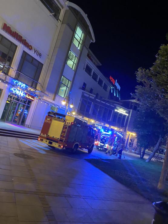 Pożar ogrzewacza tarasowego w Sopocie