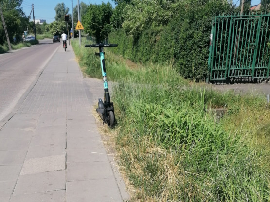 Problem na ul Modrej w Gdańsku