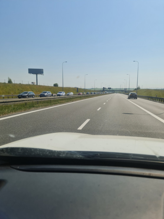 Korek na obwodnicy południowej w kierunku Gdańska