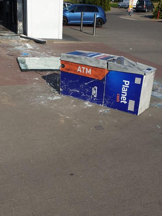Włamanie do bankomatu na Owczarni