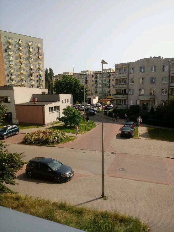 Zatrzymanie samochodu przy ul. Pawiej