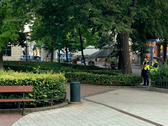 Akcja policji na Monciaku