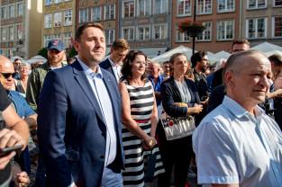 Wiec Donalda Tuska w Gdańsku