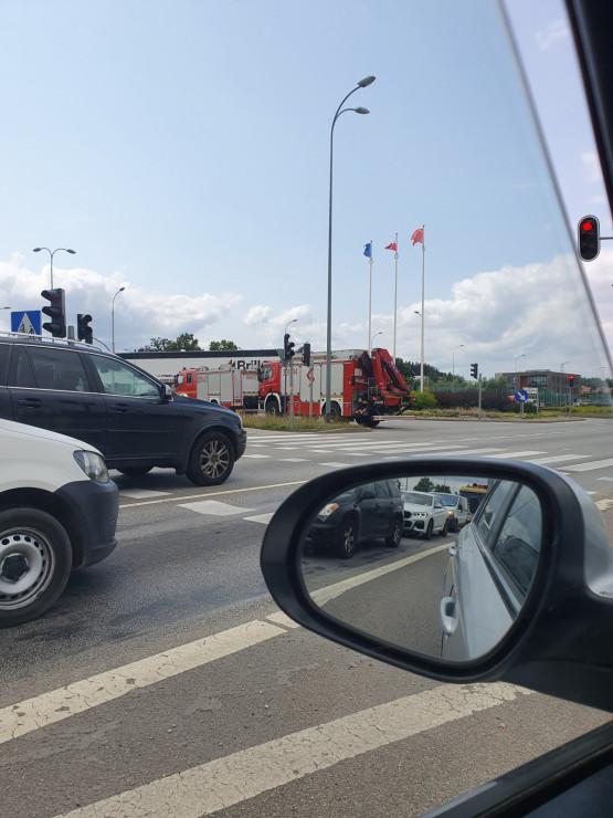 Kraksa na skrzyżowaniu Armii Krajowej